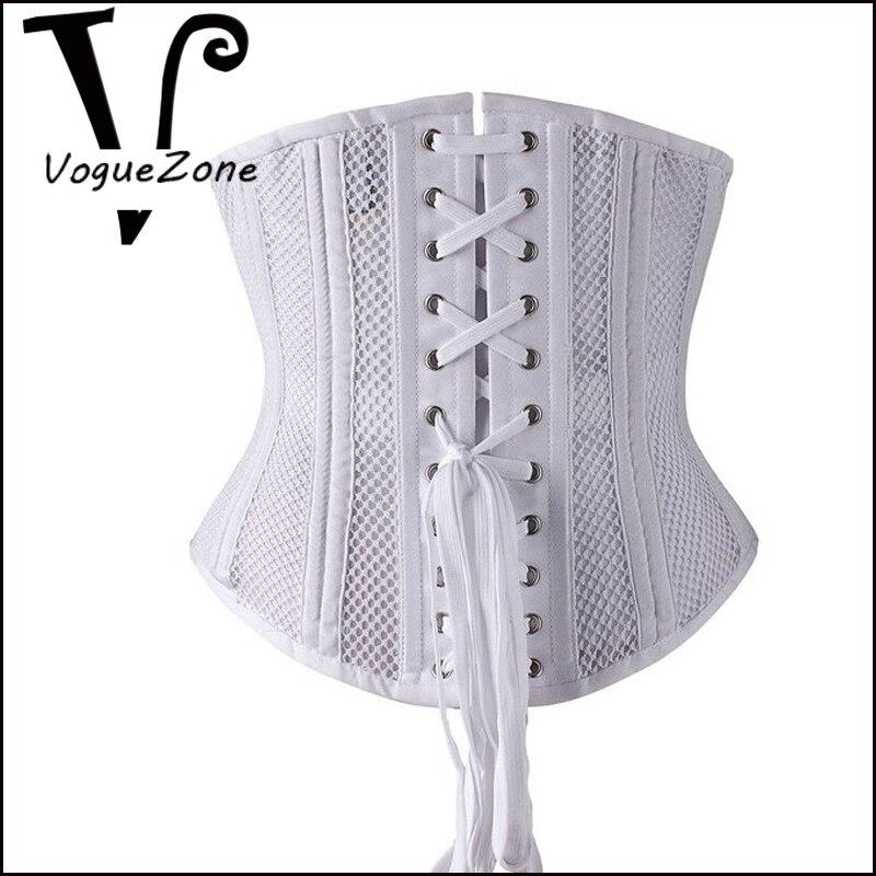 e62b713718 Camellias Women Short Torso Curvy Waist Heavy Duty Double Steel Boned Waist  Trainer Corsets