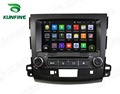 Quad Core 1024*600 Android 4.4 Car DVD GPS Navigation Player Car Stereo for Mitsubishi Outlander 2006-12 Radio 3G Wifi Bluetooth