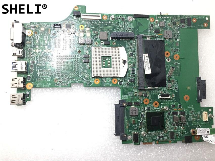 SHELI For Lenovo L530 15 Inch Laptop motherboard HD4000 SLJ8E  04Y2022SHELI For Lenovo L530 15 Inch Laptop motherboard HD4000 SLJ8E  04Y2022