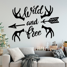 Free shipping wild and tree Self Adhesive Vinyl Waterproof Wall Art Decal For Kids Rooms Home Decor Stickers