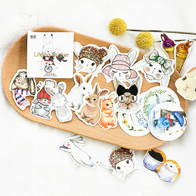 1 Set of Notebook Stickers