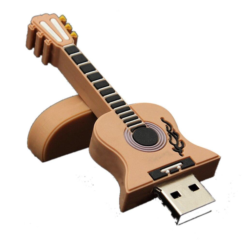iMice NEW 16GB Guitar USB 2.0 Metal Flash Memory Stick Storage Thumb U Disk 18Jan29