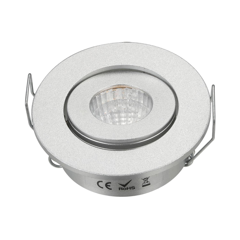 Round Recessed Ceiling Light: CE ROSH Round Small Mini Recessed Ceiling 3W Led COB