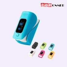 Пульсоксиметр SPO2 PR монитор кислорода в крови устойчивый к царапинам OLED двойной экран