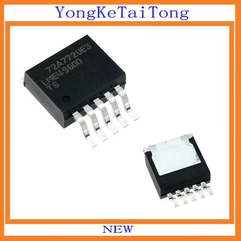 10 ピース/ロット LME49600TS LME49600 49600 TO263 高性能高忠実度高電流オーディオ  グループ上の 電子部品 & 用品 からの 集積回路 の中 1