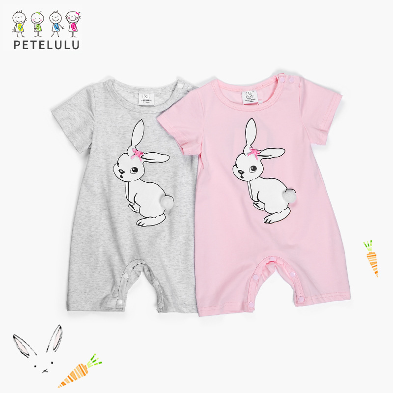 High Quality Rabbit Baby Rompers For New Born Baby Clothes Costumes Infant Clothing Boy Girl Romper Coveralls Ropa Bebe Jumpsuit purim pumpkin halloween costume for toddler bodysuit jumpsuit hat 3pcs baby boy clothes sets infant clothing ropa bebe nino