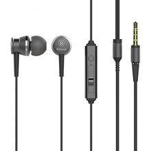 Auricular con Micrófono de 3.5mm Aux In-Ear Con Cable Auricular para Xiaomi Redmi 4 Pro Primer Reproductor de mp3 auricular fone de ouvido