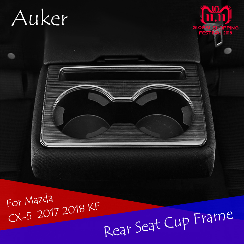 For Mazda CX 5 CX5 2017 2018 KF Rear Seat Console Air Conditioner Outlet Frame Cover