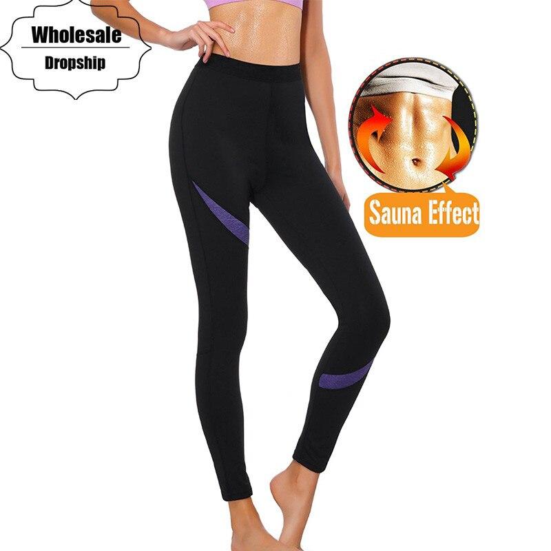 NINGMI Minceur Pantalon pour Femmes Contrôle Culottes Butt Lifter Workout Legging Activewear Maigre Serré Hot Body Shaper Taille Formateur