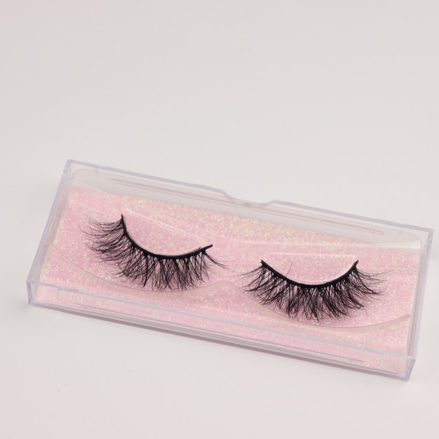 Mink Eyelashes 3D Mink 100% Cruel Eyelashes Handmade Natural Reusable Small Eyelashes False Eyelash Makeup Eye 5