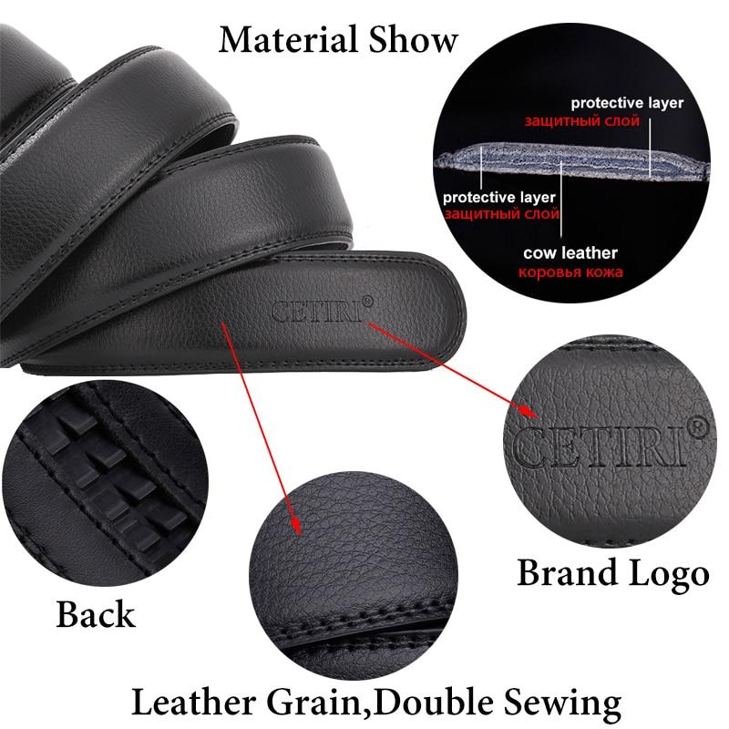 Mens Designer Belts 2018 Verkliga Äkta Läder Automatisk Spänne - Kläder tillbehör - Foto 4