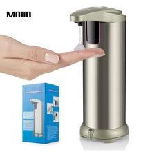 Автоматический дозатор жидкого мыла moiio аксессуары для ванной