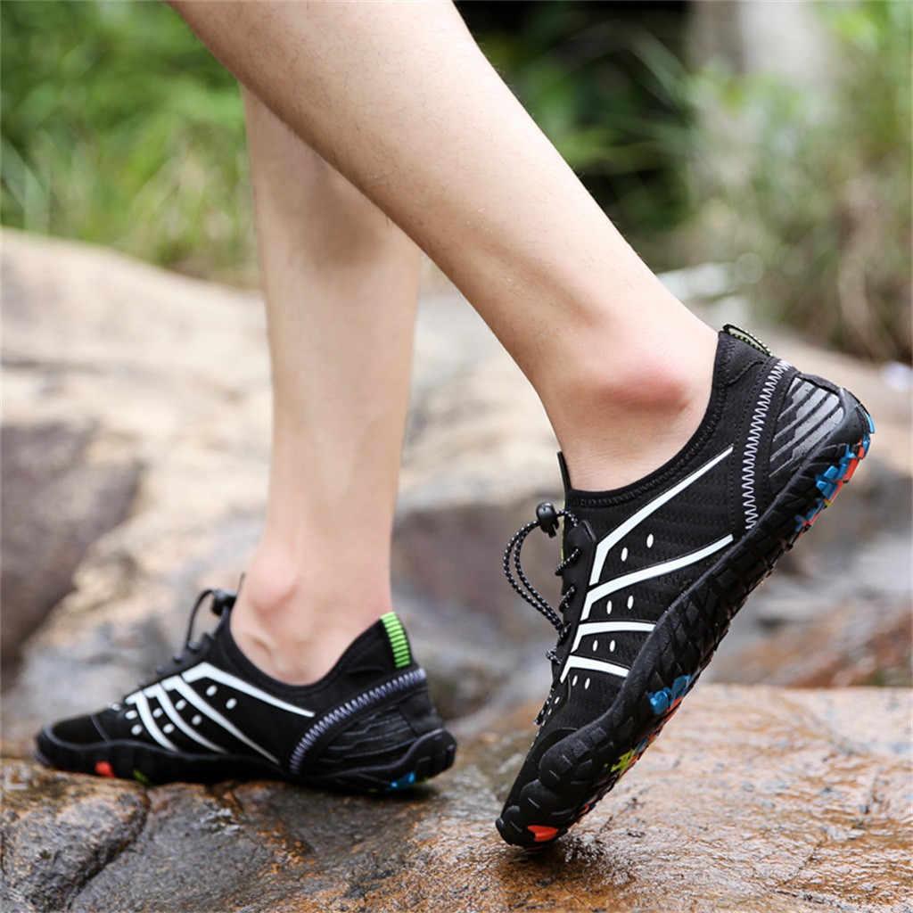 casual shoes men sneakers Couple Summer Beach Shoes Climbing Sneaker Swimming Diving  Hiking sport shoes men