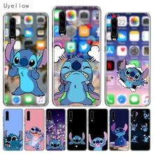 Uyellow Silicone Phone Case For Huawei P10 P20 P30 Lite Pro Hawei Mate 10 20 lite P Smart 2019 Cartoon Cute Stitches Cover