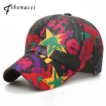 c01a8ac49a8 Fibonacci 2018 New Summer Graffiti Baseball Cap Hat for Men Women Melanin  Ponytail Chicago Cubs Snapback