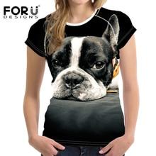 Tee FORUDESIGNS Dog shirts