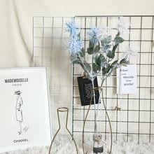 Planta Artificial de Glitch, Mar de imitación, planta falsa, decoración de flores Peculiar para fiesta en casa, oficina, jardín, decoración, boda Par # sr
