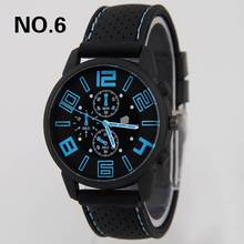 купить relojes hombre 2017 men watch New Mens Stainless Steel Luxury Sport Watch Analog Quartz wristwatch Clock Rubber Band men's watch дешево