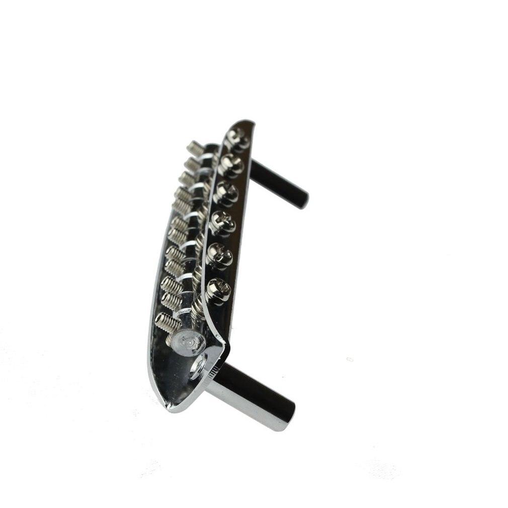 buy 6 saddle hardtail bridge top load electric guitar bridge electric guitar. Black Bedroom Furniture Sets. Home Design Ideas