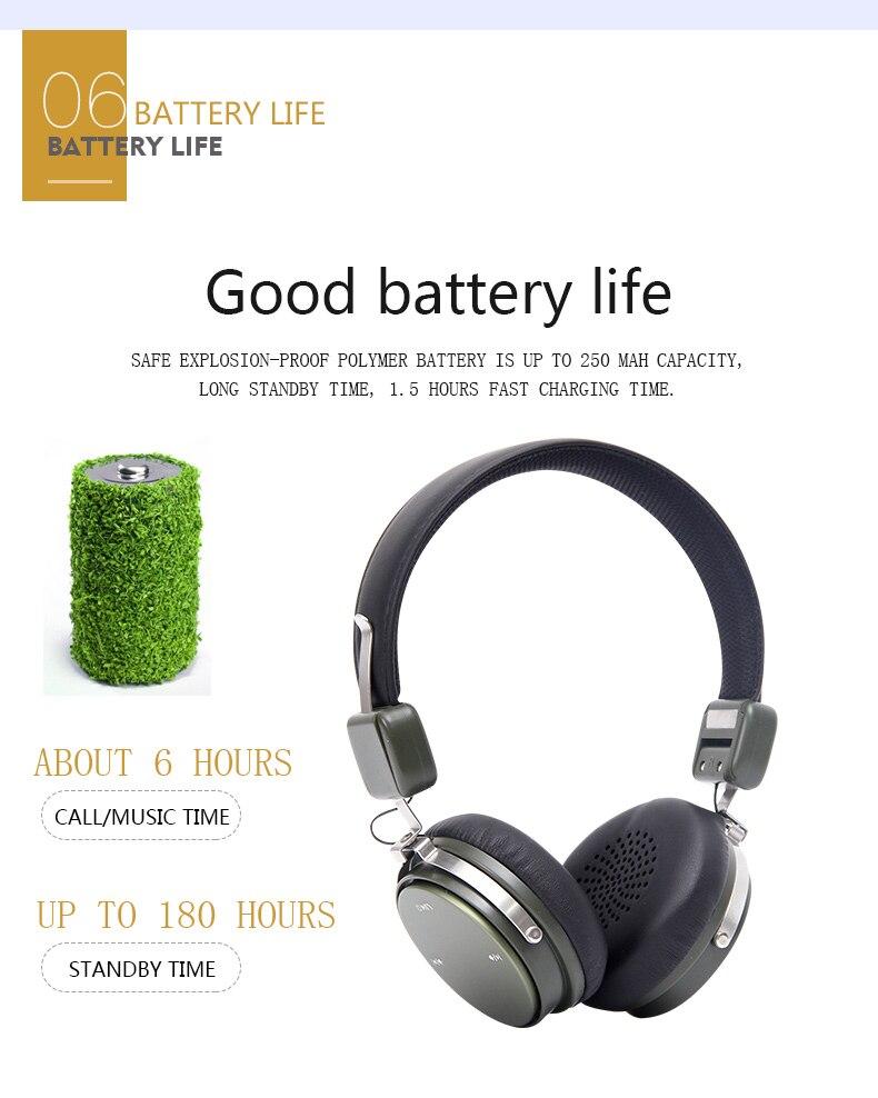 sem fio fone de ouvido com microfone para o telefone & pc
