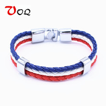 National Bracelets Leather Chain