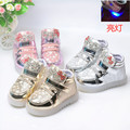 Children's shoes Baby Boys Girls Casual Shoes LED Lighted Lovely Shoes Sneakers Shoes Spring Autumn KD2-5Y