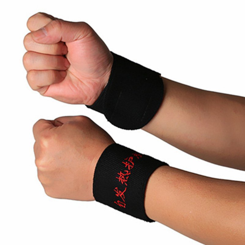 Adults Fitness Sports Safety Magnetic Therapy Wrist Brace Protection Belt Spontaneous Heating Wrist Support