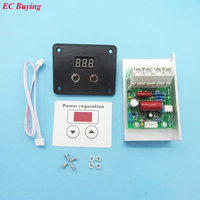 10000W Import SCR Super Power Electronic Digital Regulator Dimmer Speed Thermostat