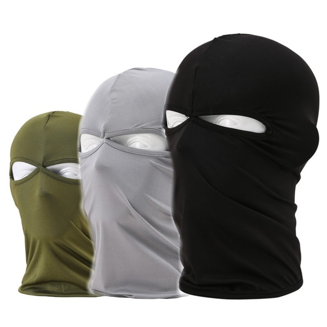 Balaclava Windproof Airsoft Military Tactical Full Face Mask Neck Guard Headgear Headwear Hat Riding Hiking Cycling Masks