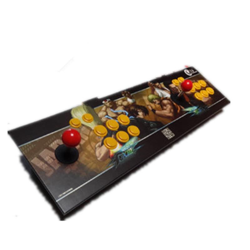все цены на Double arcade pc computer game joystick lengthen game joystick rocker usb mouth free shipping онлайн
