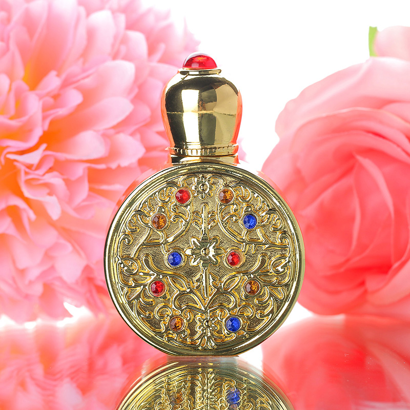 Vintage Gold Retro Metal and Glass Empty Women Perfume Bottle Container Refillable Essential Oil Bottle Portable Lady Gift 3ml 5 10ml 5 10 15 20 30pcs empty glass refillable portable mini perfume bottle