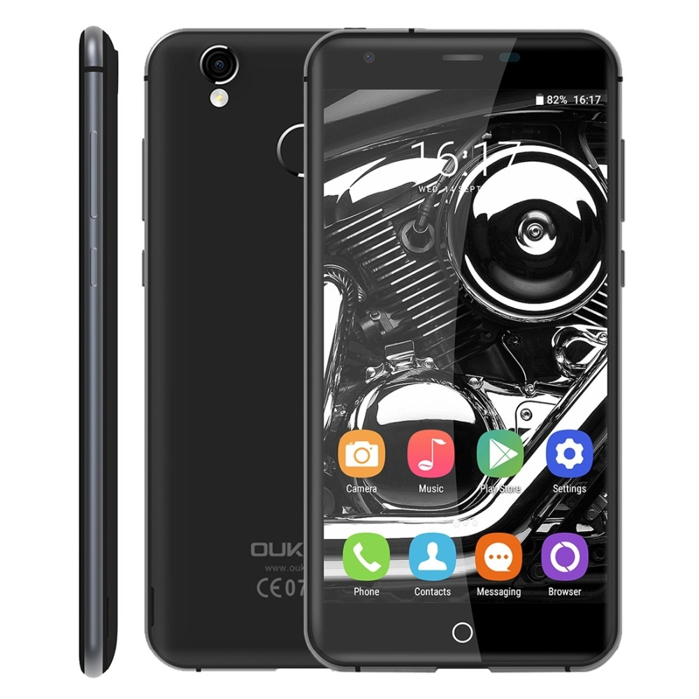Original OUKITEL K7000 Mobile phone MTK6737 Quad Core Android 6 0 2GB RAM 16GB ROM 2000mah