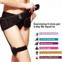 Buttocks Lifting Leg Fat Burner Belt Intensity Rechargeable EMS Toning Flex Belt Bottom Toner Firm Hips Buttocks Enhancer Pads