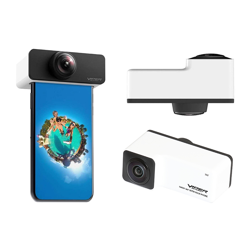 Viper Sport Panoramic Lens 360 Degrees Capturing Camera Wide Angle Fisheye Lens for iPhone 3
