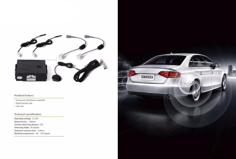 Auto lane detector parking assistent LED Licht Waarschuwing Zoemer Veilig Rijden dodehoekspiegel detector voor alle 12 V auto styling