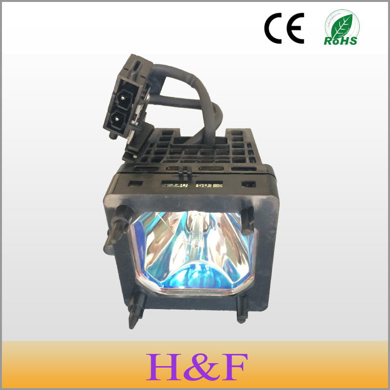 Free Shipping XL-5200 Rear Replacement Projection TV Lamp With Housing XL5200 Projector Lamp For SONY KDS-50A2000 Lambasi