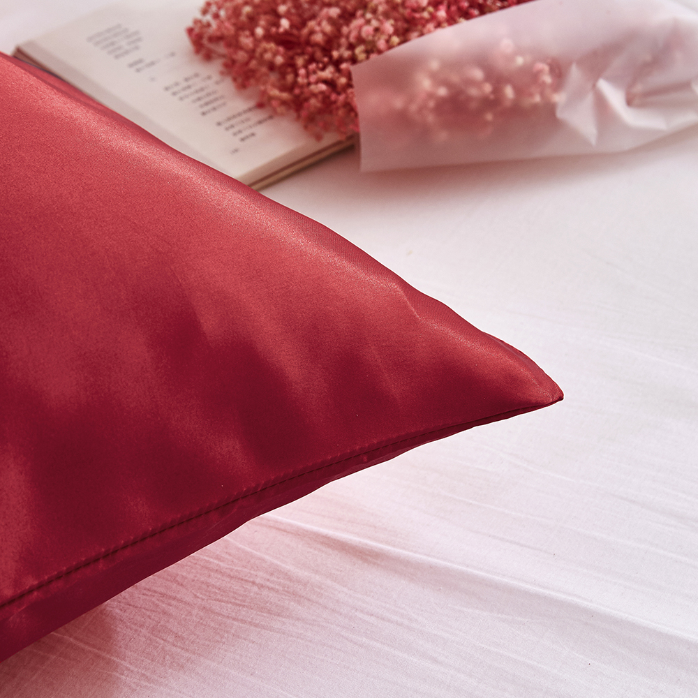 Pillow Covers Silk Satin Pillowcase 100lichnyi Ru