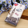 Lady Purses Women Wallets Handbags PU Leather Paris Tower Pattern Clutch Coin Purse Long Moneybag Casual Woman Card Wallet Burse