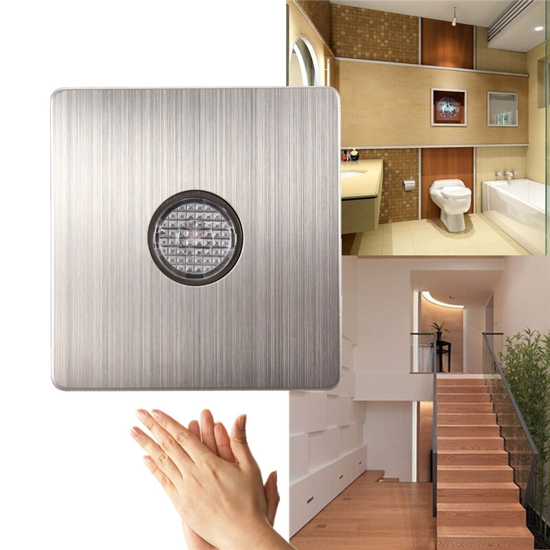 Smart Home Wall Mount Voice Sensor Switch Sound Light Controlled Delay Switch AC220-250V smart home продукты