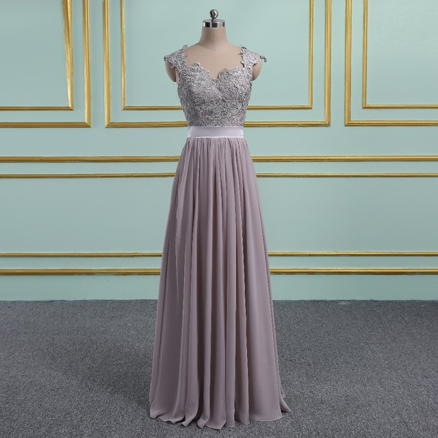 Katristsis d Vestido de Festa Chiffon Bridesmaid Dresses 37e254b15764