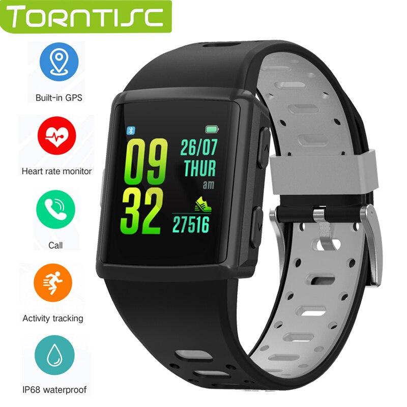 Torntisc M3 GPS sports smart watch IP68 waterproof Heart Rate tracker Multi Sports mode Full touch