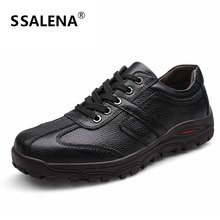 Pluz Size 38-48 Casual Shoes Men Soft Footwear Classic Oxford Leather Shoes Men Flats Spring Autumn Breathable Shoes AA20031