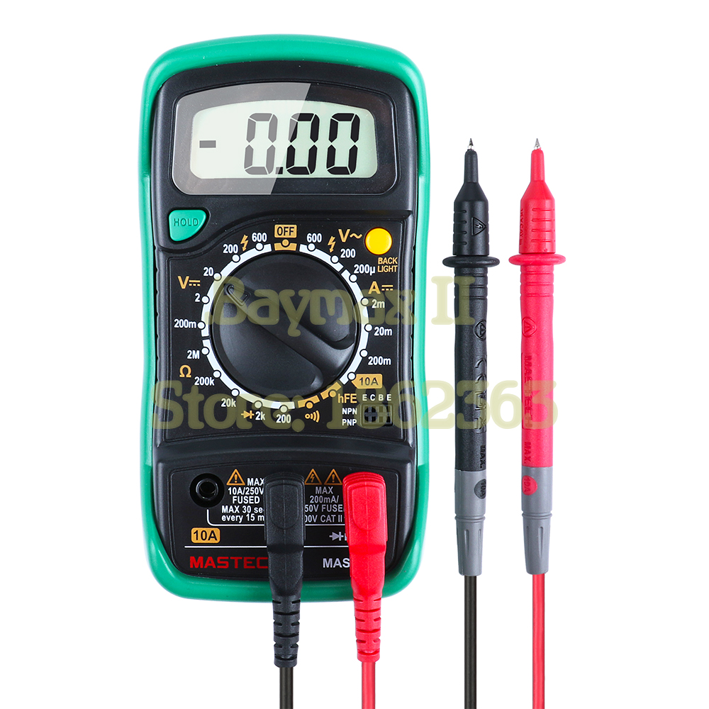 MASTECH MAS830L Pocket Size Digital Multimeters Meter with Resistance AC/DC Voltage Tester мультиметр фаzа mas830l