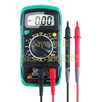 Medidor dos multímetros de digitas do tamanho do bolso de mastech mas830l com verificador da tensão da c.a./dc da resistência multimeter meter digital multimeter meter digital multimeter -