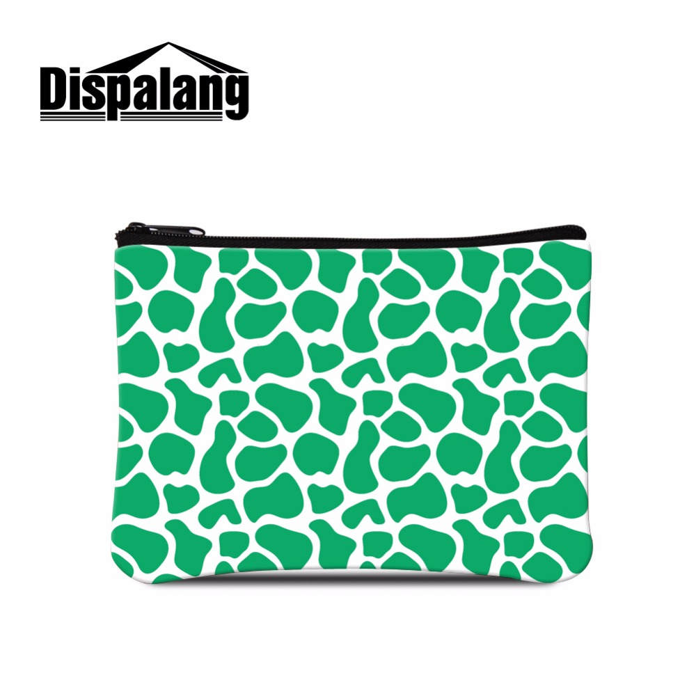Coin Purses & Holders Child Purse Makeup Pouch Delaying Senility Dispalang Large Capacity Coin Purse Coin Walle Bag Giraffes Pattern Striped Print Female Wallet