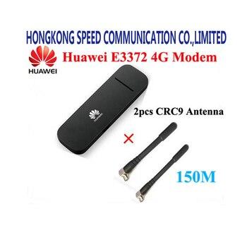 Оригинальный разблокирована Huawei E3372 E3372h-153 150 Мбит/с 4 г LTE модем ключ usb stick Datacard мобильного широкополосного доступа PK E8372 E3272