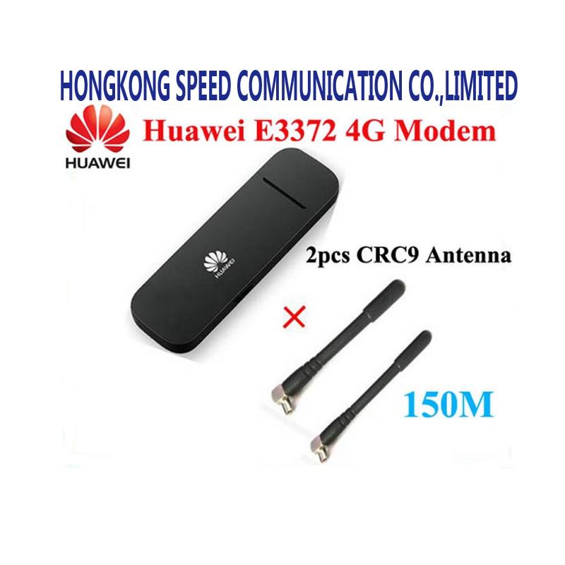 Sbloccato originale di HUAWEI E3372 E3372h-153 150 Mbps 4G LTE Modem dongle Chiavetta USB Scheda Dati A Banda Larga Mobile PK E8372 E3272
