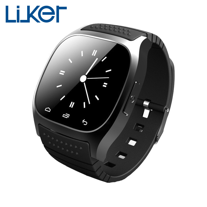 LiuKer M26 Smart Watch Sync Altimeter Anti loss font b Smartwatch b font For Android Reloj