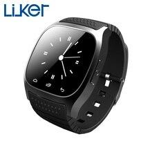 Liuker m26 Smart Watch sync höhenmesser anti- Verlust SmartWatch für Android reloj inteligente für iphone Samsung Android-Handys