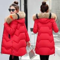 Brieuces 2019 Hohe Qualität Baumwolle Gepolsterte Winter Jacke Frauen Mit Kapuze Lange Outwear Für Frauen Winter Jacken Plus Größe Mantel